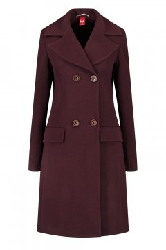Only M - Winter Coat Panno Purple