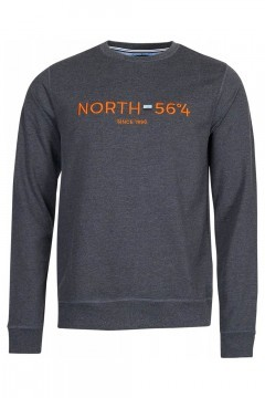 North 56˚4 Sweater - Since 1998 Grey