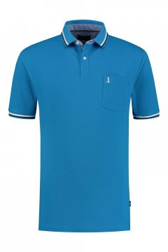 North 56˚4 Polo Shirt - Lighthouse Sky
