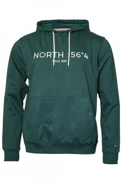North 56˚4 - Hooded sweater green