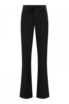 Only M - Trousers Lino Nero