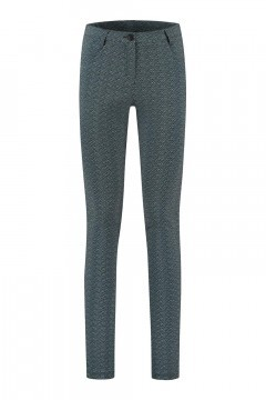 Only M Trousers - Redford Scale Blue