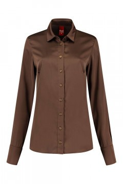 Only M - Blouse Fresh Brown