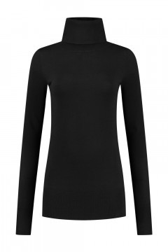 Only M - Basic Turtleneck Sweater Black