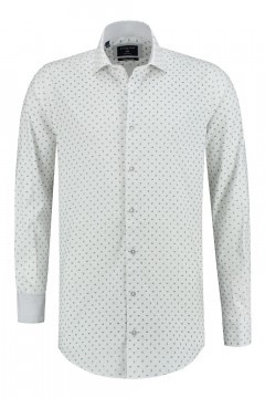 Corrino Shirt - Paisley white