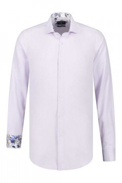 Corrino Shirt - Oxford Lilac