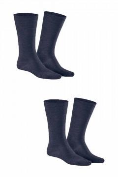 Kunert - Comfort Wool 2-Pack Navy
