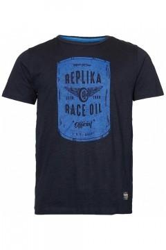 Replika Jeans T-shirt - Race Oil Black