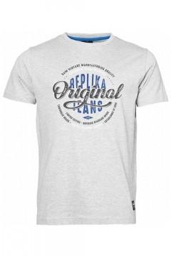 Replika Jeans T-shirt - Raw Vintage Grey
