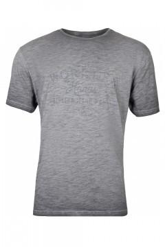Replika Jeans T-Shirt - Workers Dark Grey