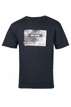 Replika Jeans T-Shirt - Print Black