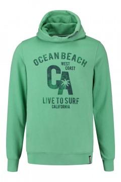 Kitaro Hoodie Sweater - Ocean Beach Green
