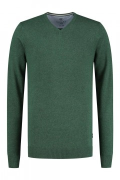 Kitaro Sweater - Basic V-Neck Green