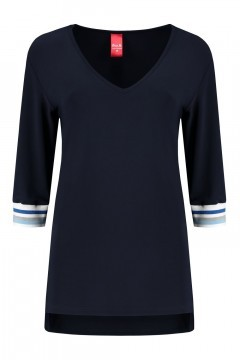 Only M - Loose top navy