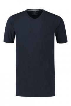 Kitaro T-Shirt - Basic V-Neck Navy
