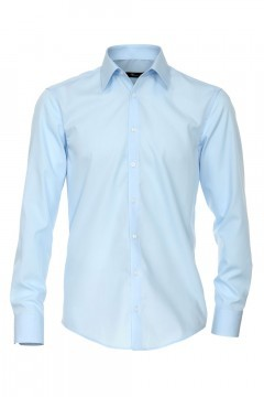 Venti slim fit shirt light blue