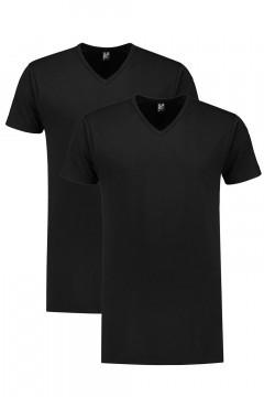 Alan Red Tall T-Shirt - Vermont Black/2-pack