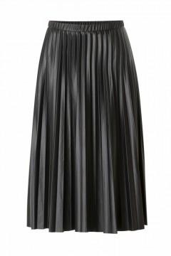 Yest Pleated Skirt - Aiko Black
