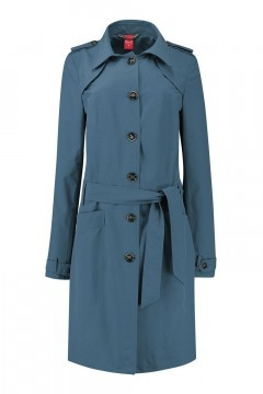 Only M Trenchcoat - Imprime Blue