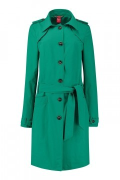 Only M Trenchcoat - Imprime Green