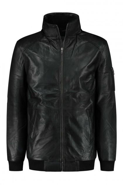 North 56˚4 - Winter coat leather