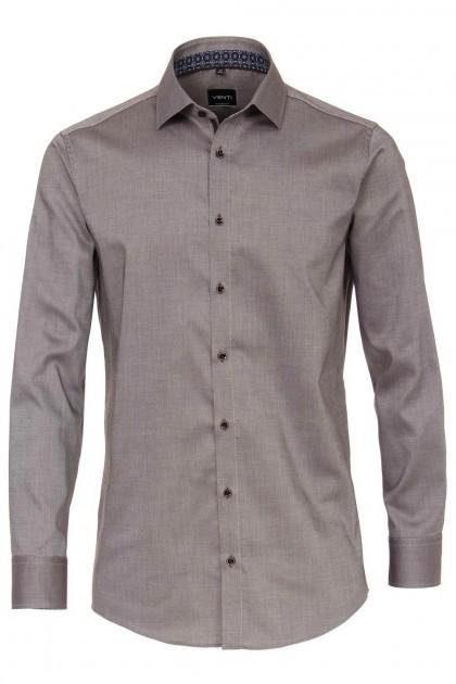 Venti Modern Fit Shirt - Kent Brown