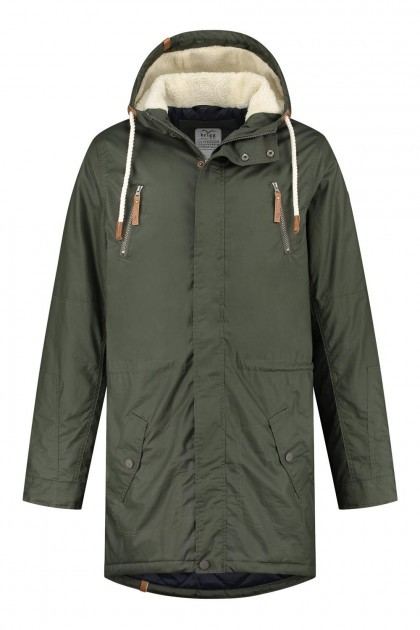 Brigg Winter Coat - Pete Dark Green
