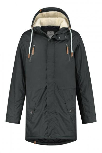 Brigg Winter Coat - Pete Dark Grey