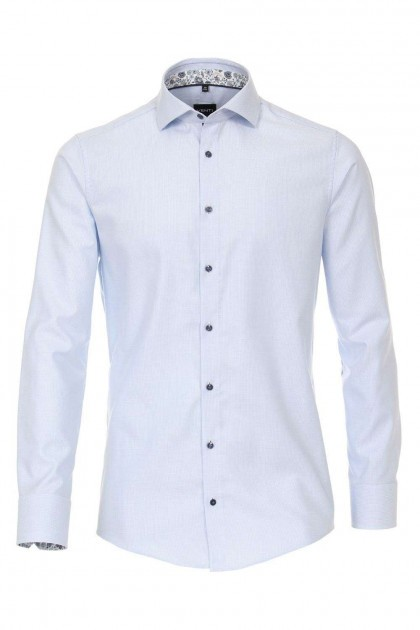 Venti Modern Fit Shirt - Hai Light Blue
