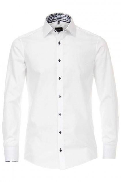 Venti Modern Fit Shirt - White