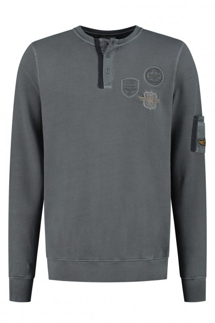 Kitaro Sweater - Flying Academy Grey