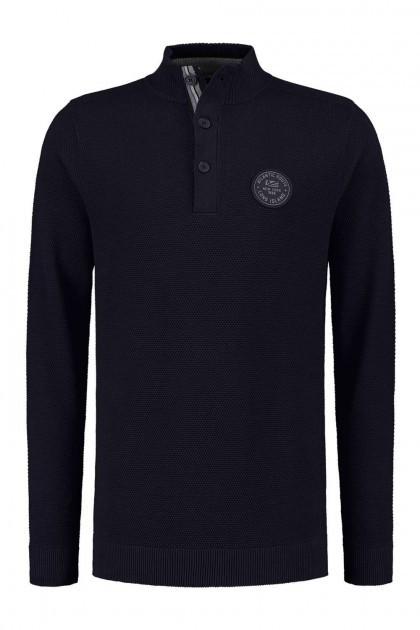 Kitaro Sweater - Atlantic Navy