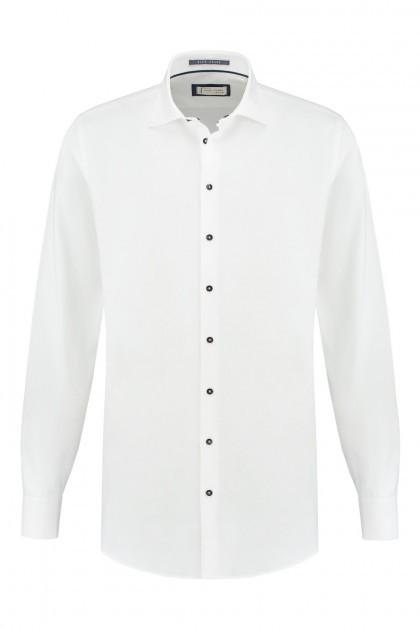 Blue Crane tailored fit shirt - White
