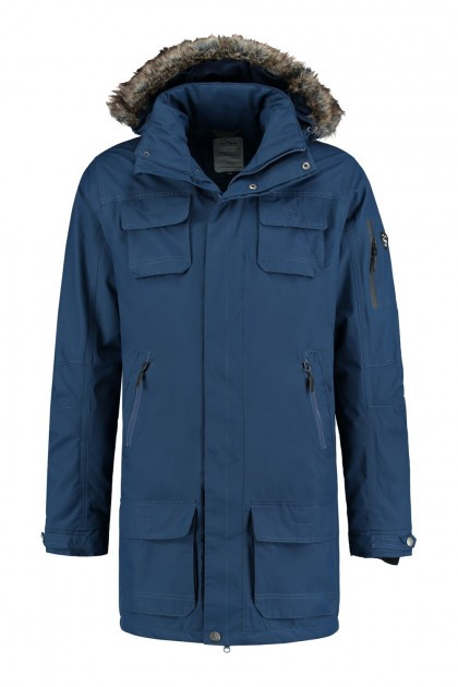 Brigg Functional Parka - Blue