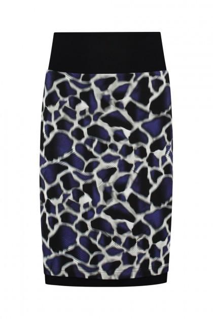 Chiarico - Skirt Coco Blue Animal