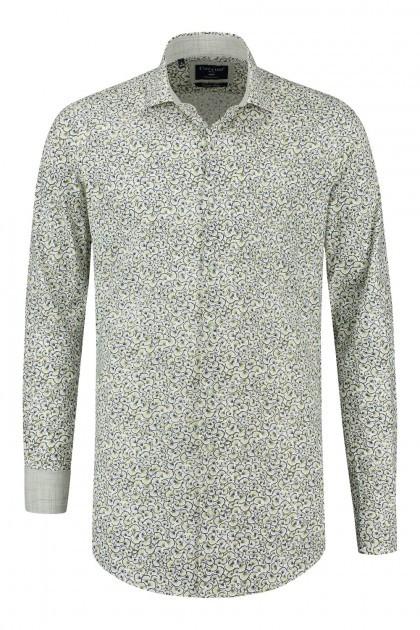Corrino Shirt - Milano white/multi