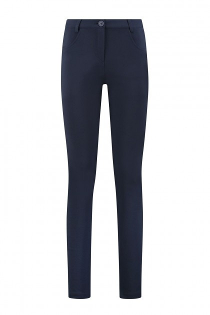 Only M Trousers - Celine with piping navy
