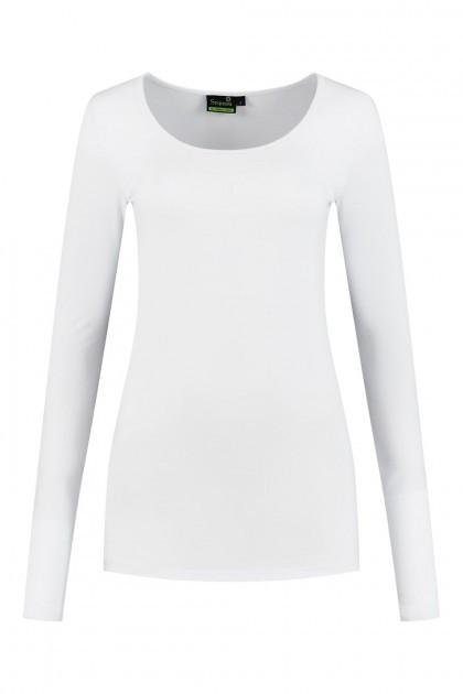 Sequoia - Basic top long sleeve white