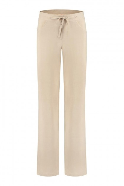 Only M - Trousers Lino Beige