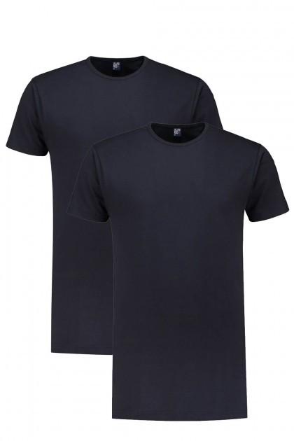 Alan Red Tall T-Shirt - Derby Navy 2-pack