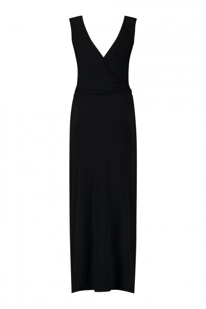 Only M - Wrap dress Snooze black