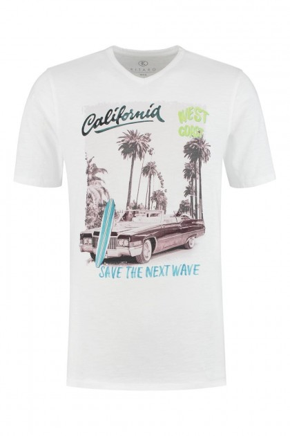 Kitaro T-Shirt - California White
