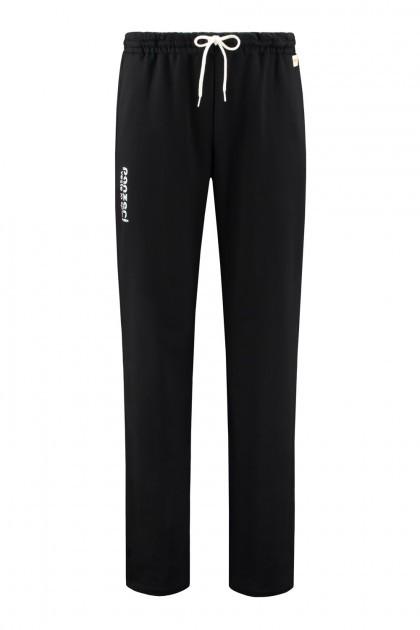 Panzeri Sweatpants Open Leg - Black