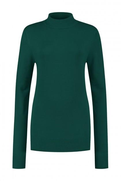 Casa Mia - Basic Sweater Dark Green