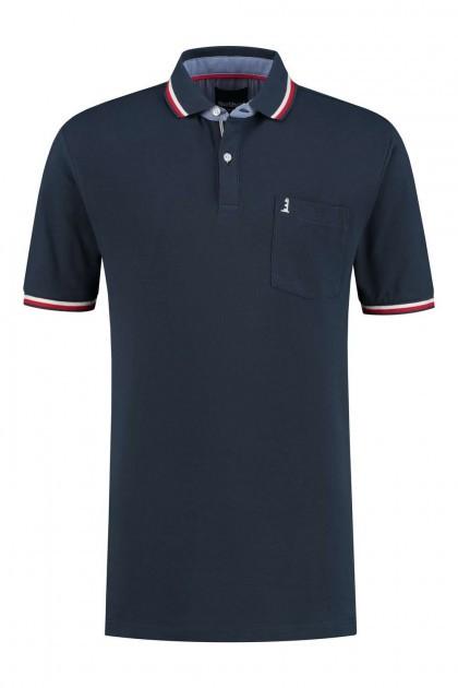 North 56˚4 Polo Shirt - Lighthouse Navy