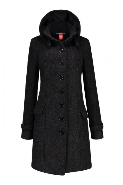 Only M - Wool Wintercoat Anthracite