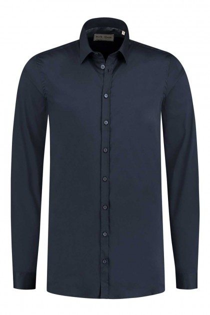 Blue Crane slim fit shirt - Dark Blue