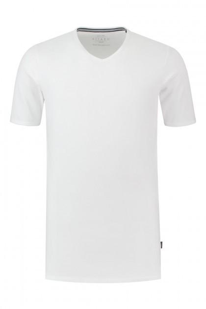 Kitaro T-Shirt - Basic V-Neck White