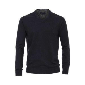Casa Moda V-Neck Pullover - Dark Blue