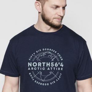 North 56˚4 T-Shirt - Artic Attire Navy